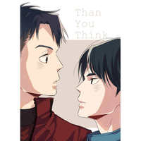 Doujinshi - Yuri!!! on Ice / Jean-Jacques Leroy x Lee Seung-gil (Than You Think…) / RUGGED