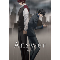 [Boys Love (Yaoi) : R18] Doujinshi - Novel - Blood Blockade Battlefront / Klaus V Reinhertz x Steven A Starphase (Answer) / 徒然家。
