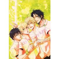 Doujinshi - Prince Of Tennis / Senri x Shiraishi & Zaizen x Kenya (Miracle happy turn!) / ロマンスは死にました