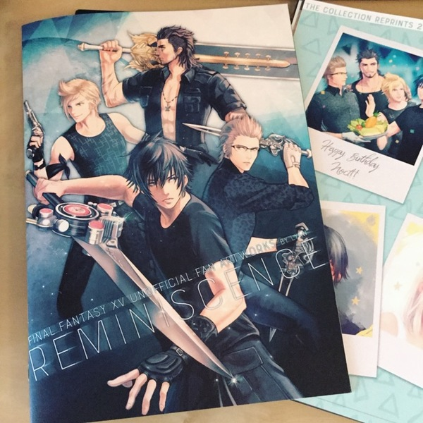 Doujinshi - Illustration book - Final Fantasy XV / All Characters & Noctis & Prompto & Ignis (REMINISCENCE) / LIN.Q