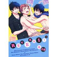 [Boys Love (Yaoi) : R18] Doujinshi - Manga&Novel - Anthology - Blue Exorcist / Renzo x Rin (REVERSI!!) / STRIPE15/imoST15/