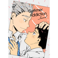 [Boys Love (Yaoi) : R18] Doujinshi - Haikyuu!! / Akaashi Keiji x Bokuto Koutarou (Summer Addiction second) / CANARY
