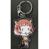 Key Chain - Kemono Friends / Black-tailed Prairie Dog