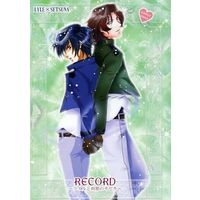 [Boys Love (Yaoi) : R18] Doujinshi - Manga&Novel - Mobile Suit Gundam 00 / Lyle Dylandy x Setsuna F. Seiei (RECORD ~ライルと刹那のキセキ~) / QUEEN SYSTEM/SPRING