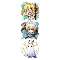 Key Chain - Fate/Grand Order / Nitocris & Saber (Fate/Extra) & Jeanne d'Arc (Alter)