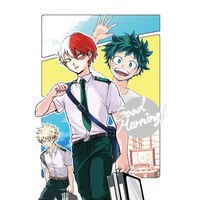 Doujinshi - My Hero Academia / Midoriya Izuku & Bakugou Katsuki & Todoroki Shouto (Good morning!) / カビぱん
