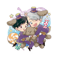 Key Chain - Yuri!!! on Ice / Yuuri & Victor