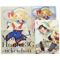 Doujinshi - Illustration book - MONSTER HUNTER (【C81セット】ticketchan) / ticketchan
