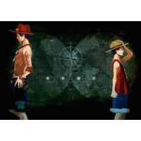 Doujinshi - ONE PIECE / Luffy & Ace (HOME) / Ginka