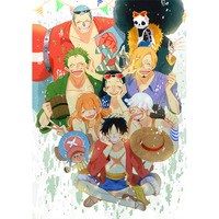 Doujinshi - Anthology - ONE PIECE / Luffy & Chopper & Zoro (20) / 国際海賊団