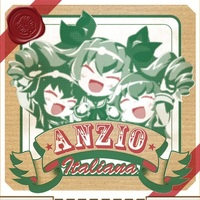 Doujinshi - Illustration book - GIRLS-und-PANZER / Carpaccio & Anchovy (アンツィオイタリアーナ) / Teaset`s