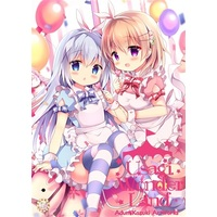 Doujinshi - Illustration book - Touhou Project / Kafuu Chino & Hoto Cocoa & Sanae (【メロン限定特典付】USAGIWonderland) / Come Through