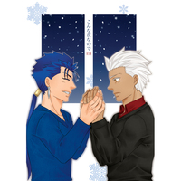 [Boys Love (Yaoi) : R18] Doujinshi - Fate/stay night / Lancer x Archer & Lancer  x Archer (こんな夜なので) / ASUC