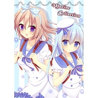 Doujinshi - Illustration book - GochiUsa / Kafuu Chino & Hoto Cocoa (Marine collection) / ぽかぽか日和*