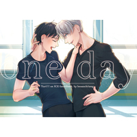 Doujinshi - Illustration book - Yuri!!! on Ice / Victor x Katsuki Yuuri (one day) / いさんち。