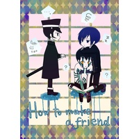 Doujinshi - Persona3 / Protagonist (Persona 3) & Demifiend & Raidou (How to make a friend)