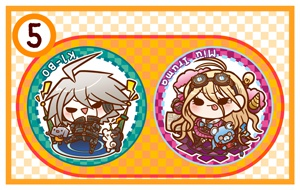 Badge - Danganronpa V3 / Iruma Miu & Ki-Bo