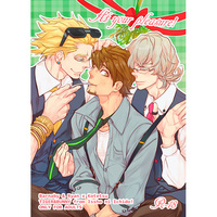 [Boys Love (Yaoi) : R18] Doujinshi - TIGER & BUNNY / Kotetsu & Barnaby & Ryan Goldsmith (At your pleasure!) / 一生に一度!