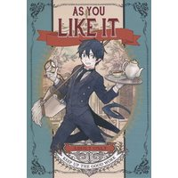 [Boys Love (Yaoi) : R18] Doujinshi - Manga&Novel - Blue Exorcist / Mephisto x Rin Okumura (AS YOU LIKE IT) / 赤組