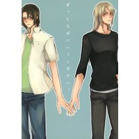 Doujinshi - Manga&Novel - Anthology - Fafner in the Azure / Minashiro Soshi x Makabe Kazuki (ずっとそばにいてください。) / KC/MC
