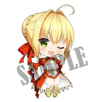 Key Chain - Fate/Grand Order / Saber (Fate/Extra)