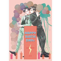[Boys Love (Yaoi) : R18] Doujinshi - Shingeki no Kyojin / Levi x Eren (HAPPY BIRTHDAYs) / !FAB!