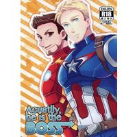 [Boys Love (Yaoi) : R18] Doujinshi - Avengers (Acuatlly,he is the BOSS) / A's Mulitidi