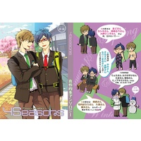 [Boys Love (Yaoi) : R18] Doujinshi - Manga&Novel - Anthology - Free! (Iwatobi Swim Club) / Rei & Makoto (真怜四季アンソロジー「4seasons」)