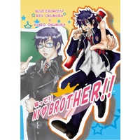 Doujinshi - Blue Exorcist / Yukio & Rin (笑って!!MY BROTHER!!) / river-sea