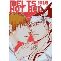 [Boys Love (Yaoi) : R18] Doujinshi - Bleach / Ichigo Kurosaki x Abarai Renji (MELTS HOT RED) / 速兎