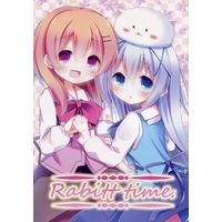 Doujinshi - Illustration book - GochiUsa / Hoto Cocoa & Kafuu Chino (Rabitt time.) / あずーるらぴす