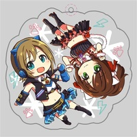 Key Chain - IM@S: Cinderella Girls / Miku & Riina