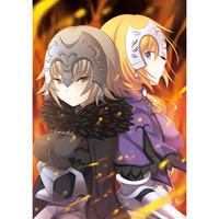 Tapestry - Fate/Grand Order / Jeanne d'Arc & Jeanne d'Arc (Alter)
