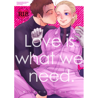 [Boys Love (Yaoi) : R18] Doujinshi - IRON-BLOODED ORPHANS / Norba Shino x Yamagi Gilmerton (Love is what we need.) / NICEGUY