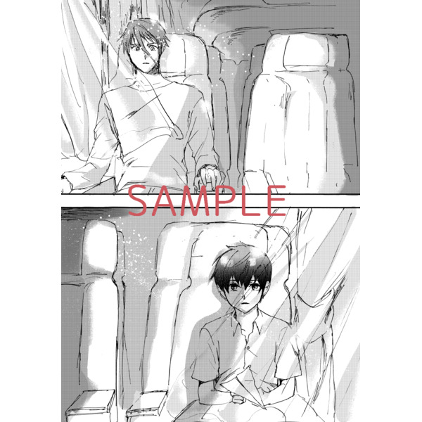 [Boys Love (Yaoi) : R18] Doujinshi - IRON-BLOODED ORPHANS / Gaelio Bauduin x Ein (スペクトラムな僕に告ぐ) / iso