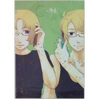 Doujinshi - Hetalia / France x Canada & United Kingdom x America (Calling you) / 壱