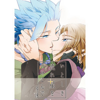 [Boys Love (Yaoi) : R18] Doujinshi - Dragon Quest XI / Erik x Hero (DQ XI) (いとしき流れ星をのみこんで) / HAMANASU