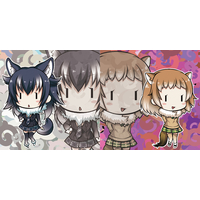 Cushion Cover - Kemono Friends
