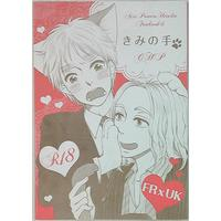 [Boys Love (Yaoi) : R18] Doujinshi - Hetalia / France x United Kingdom (きみの手) / CHP
