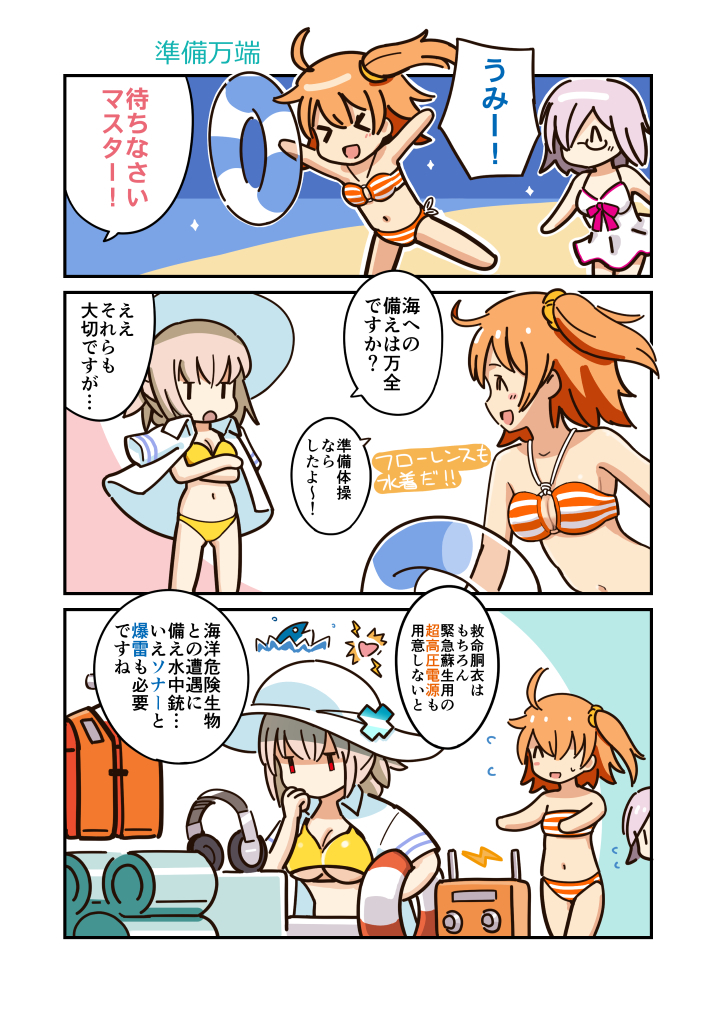 Doujinshi - Fate/Grand Order / All Characters & Mash Kyrielight & Gudako (ウチぐだ) / Vitamin Gohan