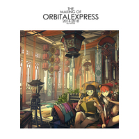 Doujinshi - Illustration book - Final Fantasy XI / Zell Dincht (THE  MAKING OF  ORBITALEXPRESS  2014-2018) / Orbital Express
