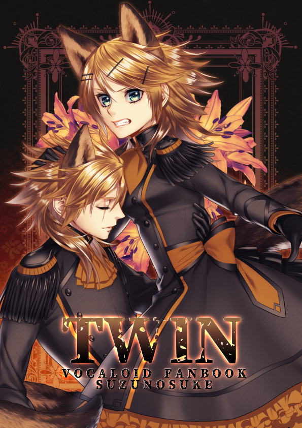 Doujinshi - Illustration book - VOCALOID / Len & Rin (TWIN) / Room343