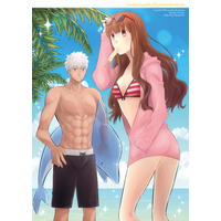 Doujinshi - Fate/EXTRA / Archer & Kishinami Hakuno & Archer (Fate/Extra) (UnderwaterReminiscence) / RecklessAct