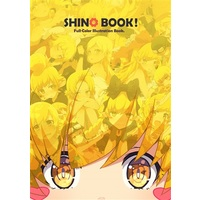 Doujinshi - Illustration book - Nisemonogatari / Shinobu & Koyomi & Kiss-shot & Yotsugi Ononoki (SHINO BOOK!) / Milky Been!
