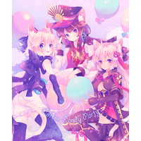 Doujinshi - Illustration book - Fate/Grand Order / Okita Souji x Oda Nobunaga (CottonCandyParty) / Minagoroc
