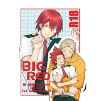[Boys Love (Yaoi) : R18] Doujinshi - My Hero Academia / Fat Gum x Kirishima Eijiro (BIG RED) / 2HB