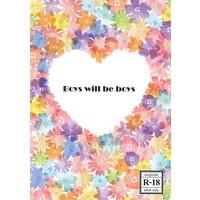 [Boys Love (Yaoi) : R18] Doujinshi - Novel - A3! / Takatoo Tasuku x Tsukioka Tsumugi (Boys will be boys) / 8.call