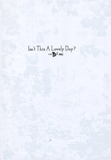 Doujinshi - Hetalia / France x United Kingdom (【準備号】Isn't This A Lovely Day? vol.5) / Ashita no Kaze
