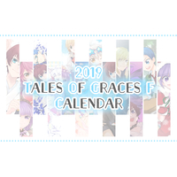 Desk Calendar - Calendar 2019 - Tales of Graces / All Characters & Sophie & Asbel & Richard