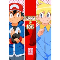 [Boys Love (Yaoi) : R18] Doujinshi - Pokémon / Ash Ketchum (Satoshi) (summer boys) / WEST ONE